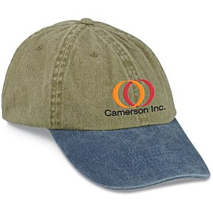 Stonewashed Cap - Embroidered Main Image