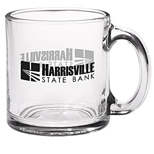 Glass Mug - Clear - 13 oz.