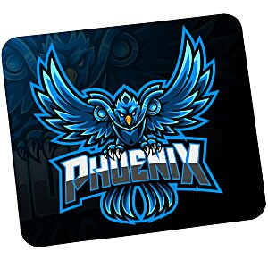 "Sublimated Rectangle Soft Mouse Pad - 1/8"" Main Image"