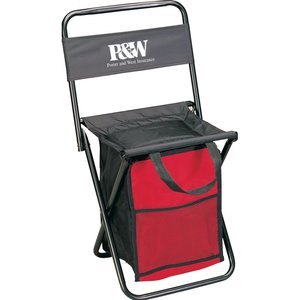 Folding Chair with Cooler Main Image