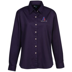 Blue Generation LS Teflon Treated Twill Shirt - Ladies' Main Image