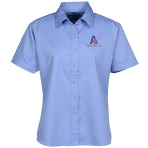 Blue Generation SS Teflon Treated Twill Shirt - Ladies' Main Image