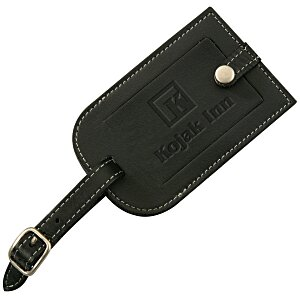 Millennium Leather Luggage Tag Main Image