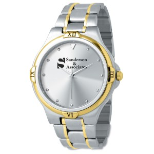 Two Tone Stainless Steel Watch - Ladies' Main Image