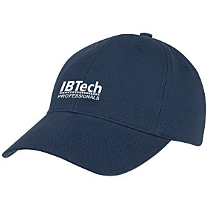 Curved Visor Brushed Twill Cap - Transfer Main Image