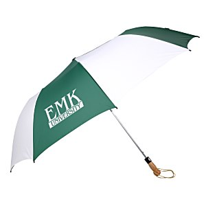 "Folding Golf Umbrella with Auto Open - 58"" Arc Main Image"