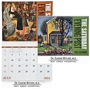 Saturday Evening Post Calendar - Spiral Main Image