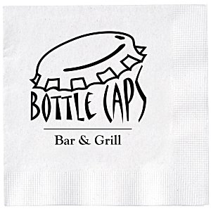 Beverage Napkin - 2-ply - White Main Image