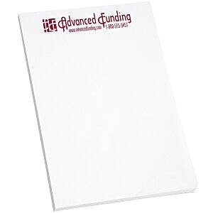 "Scratch Pad - 6"" x 4"" - White - 50 Sheet"