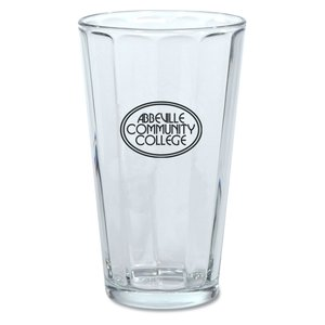 Paneled Brewery Glass - 16 oz. Main Image