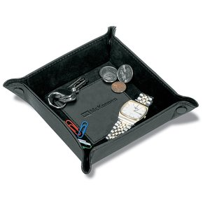 Leather Hold Everything Tray