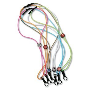 "Power Cord Lanyard - 3/16"" Transparent Main Image"
