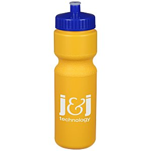 Sport Bottle with Push Pull Lid - 28 oz. - Colors