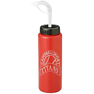 Sport Bottle with Straw Cap - 32 oz. Main Image