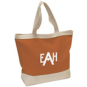 Small Canvas Boat Tote Bag Main Image