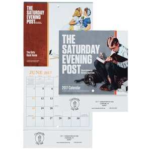 Saturday Evening Post Norman Rockwell Calendar - Mini Main Image