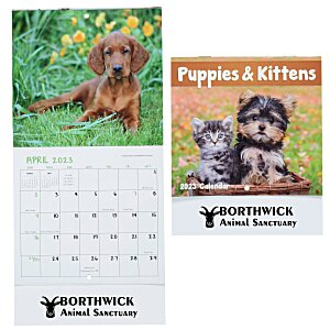Puppies & Kittens Calendar - Mini Main Image