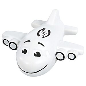 Smiley Airplane Stress Reliever Main Image