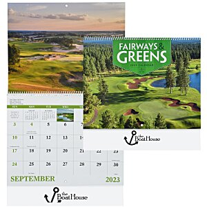 Fairways & Greens Calendar - Spiral Main Image