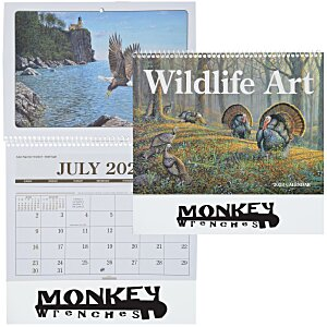 Wildlife Art Pocket Calendar Main Image