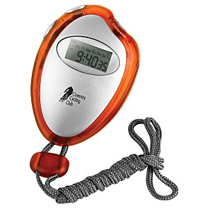 Translucent Stopwatch with Neck Rope Main Image