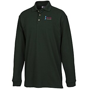 Superblend Long Sleeve Pique Polo - Men's Main Image