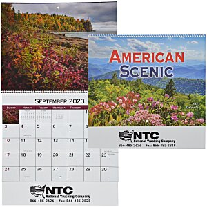 American Scenic Appointment Calendar - Spiral Main Image