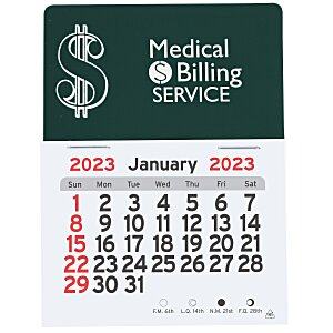Peel-N-Stick Calendar - Dollar Sign Main Image