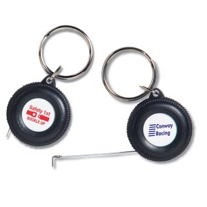 Little Wheel Measuring Keychain Main Image