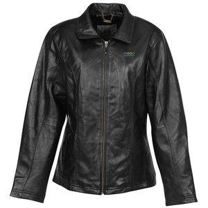 Burk's Bay Lambskin Leather Coat - Ladies' Main Image
