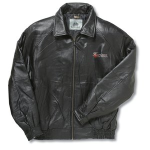 Burk's Bay Lambskin Leather Coat - Men's Main Image