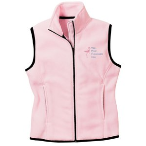 Port Authority Fleece Full Zip Vest - Ladies' Main Image