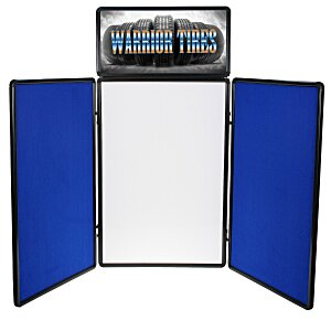 Show N Write Tabletop Display - 6' - Header Main Image