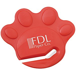 Paw Shaped Letter Slitter - Opaque Main Image