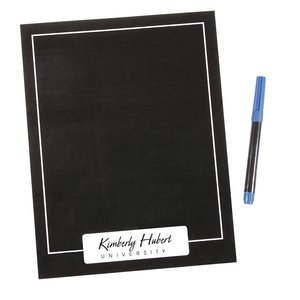 Black Magnetic Memo Board