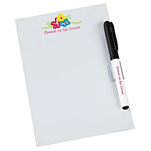 Bic Dry Erase Magnet with Marker & Clip