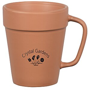 Flower Pot Mug - 14 oz. Main Image