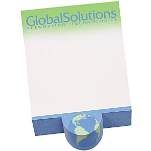 Bic Beveled Sticky Notepad - Circle Shape Main Image