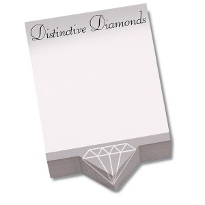 Bic Beveled Sticky Note Pad - Triangle Shape Main Image