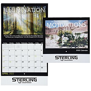 Motivations Calendar - Stapled Main Image