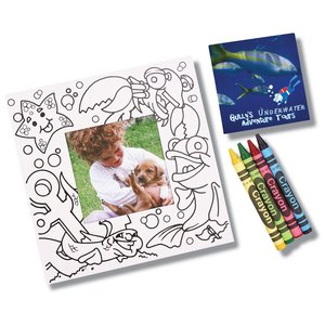 Picture Me Coloring Magnet Frame - Ocean Main Image