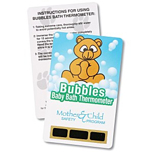 Bath Safety Thermometer - Bear Main Image