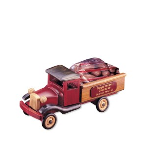 Vintage Pick-up Truck w/Almonds