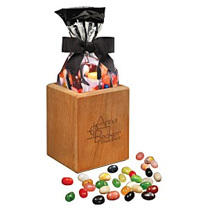 Beech Pencil Cup with Jelly Beans Main Image