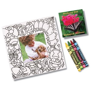 Picture Me Coloring Magnet Frame - Bugs