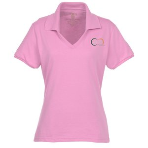 Jerzees SpotShield Johnny Collar Shirt - Ladies' Main Image