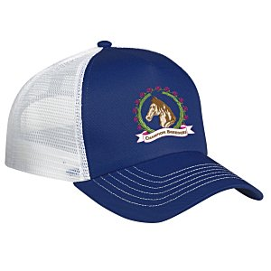 Mesh Back Trucker Cap - Embroidered Main Image