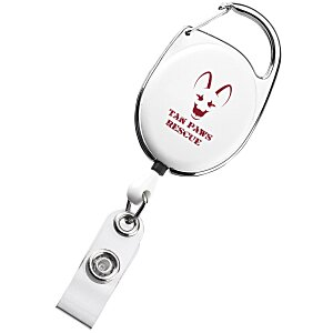 Clip-On Retractable Badge Holder - Opaque