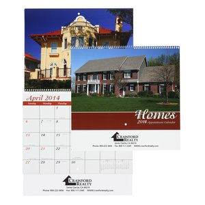 Homes Appointment Calendar - Spiral Main Image