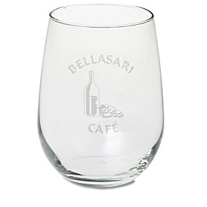 Stemless White Wine Glass - 17 oz. Main Image